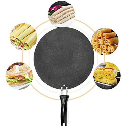 ASDFGH Anti-schalen net/pan, 30 cm, geschikt voor verschillende ovens met anti-aanbaklaag