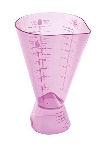 mastrad Messbecher & Maße, Kunststoff, violett, 18 x 10.5 x 13 cm