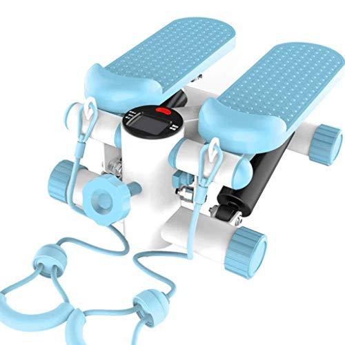 ZLXLX Indoor-sporttoestellen Stepper, fitnesspedal fitness Home Stepper, Home Quiet kachelpijp, met gewichtslot-machine, fitnessapparaten, mini-multifunctionele hydraulische hometrainer, opvouwbaar, gratis installatie