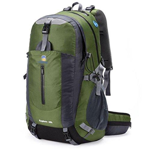 SZH&BEIB Sac à dos en plein air 40L randonnée multifonction paquet alpinisme unisexe Voyage , C