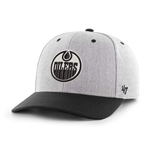 NHL Basecap Cap Edmonton Oilers Charcoal Storm Cloud TT 47 MVP DP