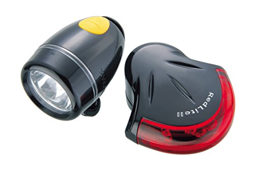 Topeak Highlite Aero Combo Set de Luces, Color Negro