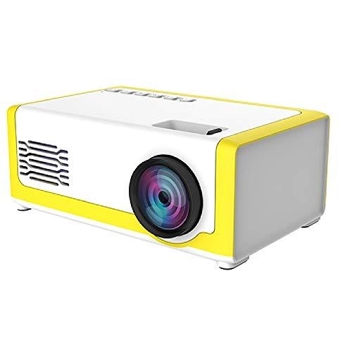 Projector, 3600 lumen natief, 1080p ondersteunt mini-projector met vloeibare kristallen, 30000 uur ondersteuning, HDMI/AV/USB/SD-kaart/hoofdtelefoon, compatibel met tv-stick/thuisbioscoop.