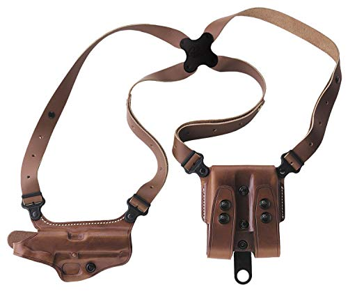 Galco Miami Classic Shoulder Holster System Tan Compatible with 3'-5' 1911
