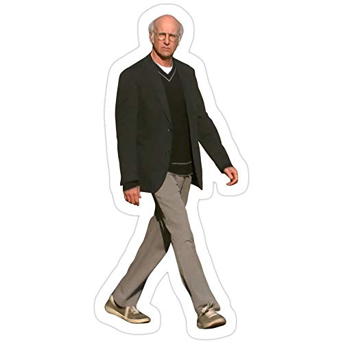 BreathNenStore Curb Your Enthusiasm Larry David - 3 Stickers (3 Pcs/Pack) 4534291047800