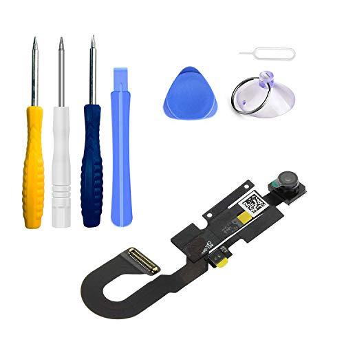 Xlhama Cámara Frontal de Repuesto Compatible con iPhone 8 cámara Frontal Sensor de proximidad Cable Flexible de autofoco con Kit de Herramientas de reparación