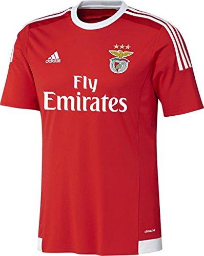 adidas Herren Trikot SLB H Jersey, Benfica Red/White, XXXL