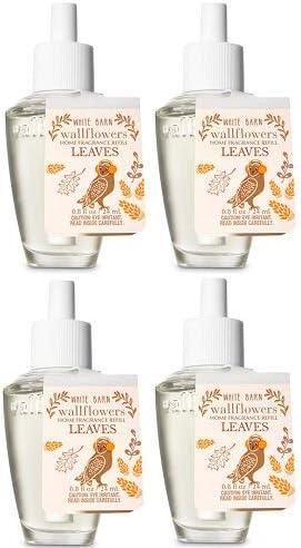 Bath and Body Works 4 Wallflowers Leaves Pack Refill. 送料無料 品質検査済 Fragrances