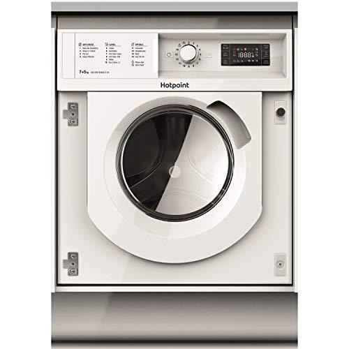 HOTPOINT BIWDHG7148 7kg Wash 5kg Dry 1400rpm Integrated Washer Dryer - White