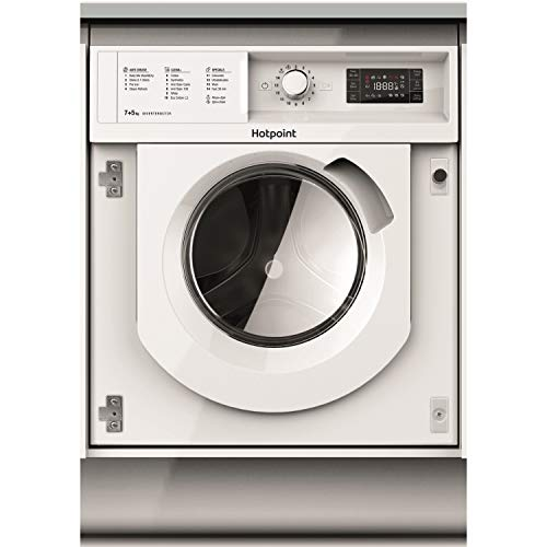 HOTPOINT BIWDHG7148 7kg Wash 5kg Dry 1400rpm Integrated Washer Dryer - White