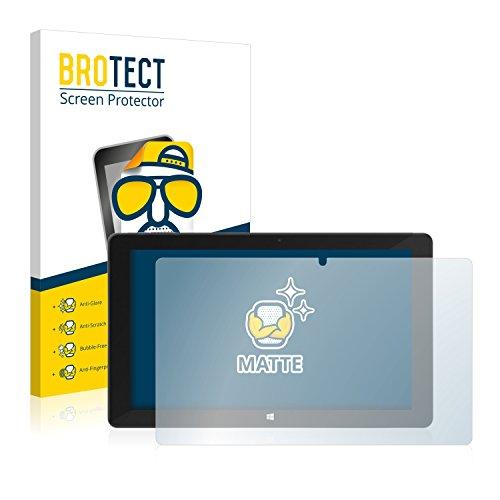 BROTECT 2X Entspiegelungs-Schutzfolie kompatibel mit TrekStor SurfTab Duo W2 Bildschirmschutz-Folie Matt, Anti-Reflex, Anti-Fingerprint