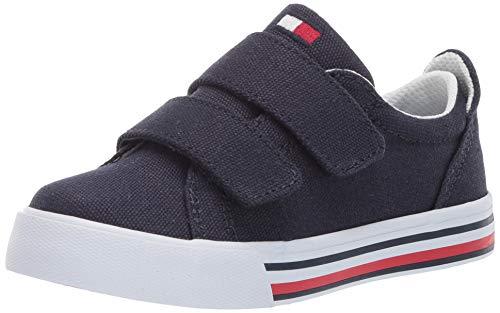 Tommy Hilfiger Baby Kids' Herritage Alt Sneaker, Navy-t, 9 Medium US Toddler