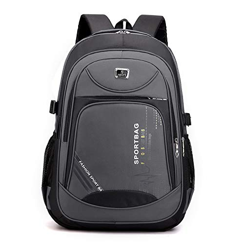 Fashion Trend Casual Backpack Junior high School Student School Bag wear-Resistant Nylon Business Backpack