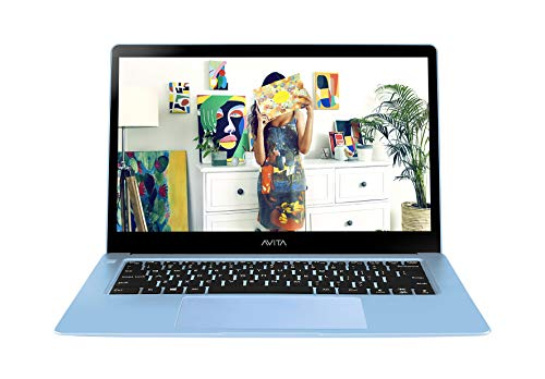 AVITA LIBER NS12A1IN001P 12.5-inch Laptop (Core i5-7Y54/8GB/256GB SSD/Windows 10 Home/Integrated Graphics), Angel Blue