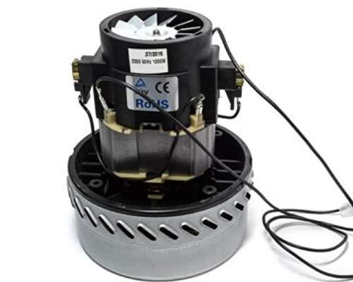 Motore Aspirapolveri Aspira Liquidi Bidone Industriale 1200 W Auto Lavaggi