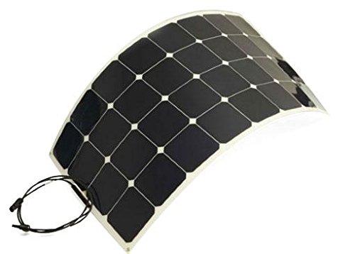 Marine Grade, 23+%+ Efficient 120 Watt Flexible Solar Panels with SunPower Maxeon A+ Grade Solar Cells