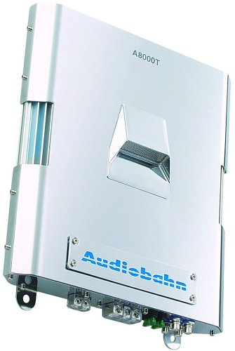 Best Review Of Audiobahn Mono-Channel Amplifier (A8000T) (A8000T)
