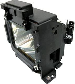 V7 200 W Replacement Lamp For Epson Emp. 600, 800 And 810 Replaces Lamp Elplp15 . 200W Projector Lamp . Uhe . 1500 Hour