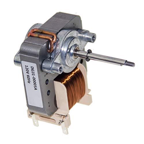 DG31-00005A Range - Motor de horno para microondas (convección Ac compatible con Samsung PS4240735 AP4338602)