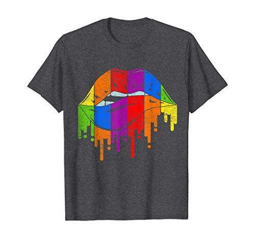 Tengyuntong Camisetas y Tops Polos y Camisas, Camiseta LGBT