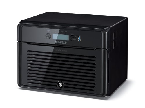 Buffalo TeraStation 5800 WD RED NAS-server (2x Gigabit RAID 0/1/5/6/10/50/51/60/61) zwart 8TB zwart