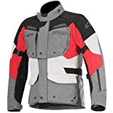 Alpinestars Moto Jacket – Alpinestars Durban Gore-Tex Grey Black Red – 54