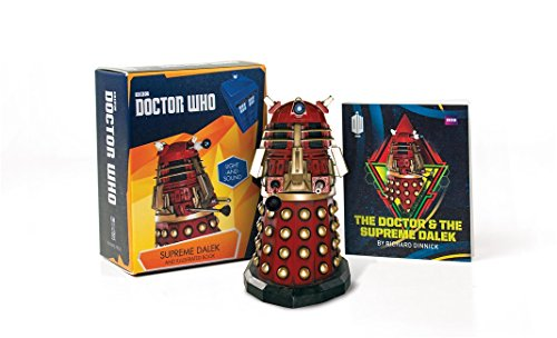 Doctor Who: Supreme Dalek and Illustrated Book: With Light and Sound (RP Minis)