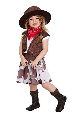 Cowgirl - Disfraz niña, talla 3 años (U37 544)
