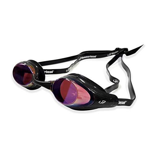 Hammerhead Racer Pro Mirror , Óculos de Natação, Unissex Adulto, Espelhado Vermelho/Preto, Único