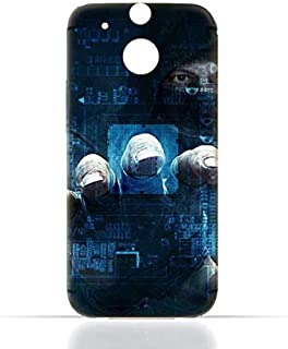 HTC ONE M8 TPU Silicone Case with Dangerous Hacker