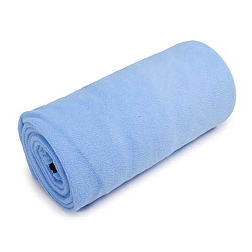 Envoltura Forro para Saco de Dormir, sábana de Camping para Saco de Dormir Forro de sábana de Viaje con Bolsa de Transporte,Blue