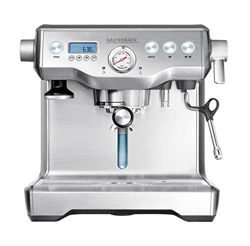 Gastroback 42636 - Cafetera (Máquina espresso, 2,5 L, De café molido, 1800 W, Acero inoxidable)