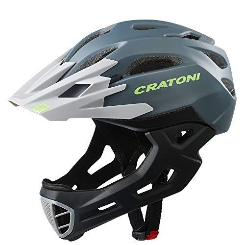 Cratoni C-Maniac Freeride Helm Anthracite/Black Matte Kopfumfang L/XL   58-61cm 2020 Fahrradhelm