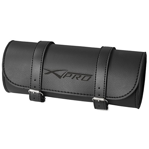 A-Pro Toolbag Tool Bag Motorbike Motorcycle Custom Chopper Style Black