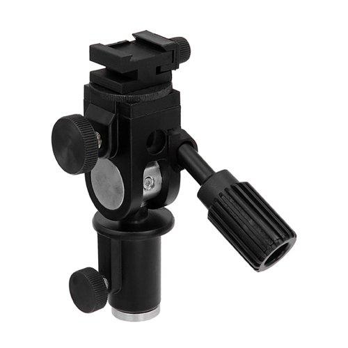Fotodiox - Soporte para sombrilla de Flash montable en Estructura y trípode, inclinación y rotación, para Olympus Flash FL-36R, FL-50R; Panasonic Flash DMW-FL360 y FL-500