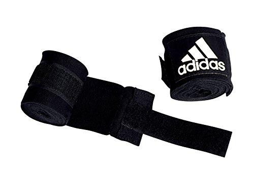 adidas Boxing Crepe Bandage New AIBA Rules, schwarz, 5.7 x 3.5 m
