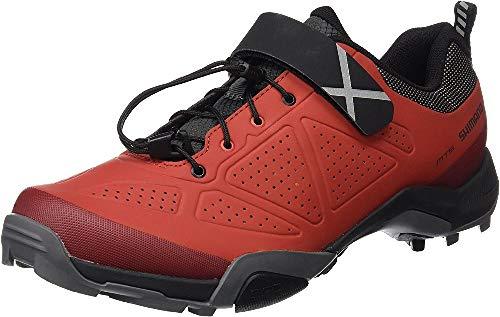 SHIMANO Shmt5og430sr00, Chaussures de Cyclisme sur Route Homme, Rouge (Red), 43 EU