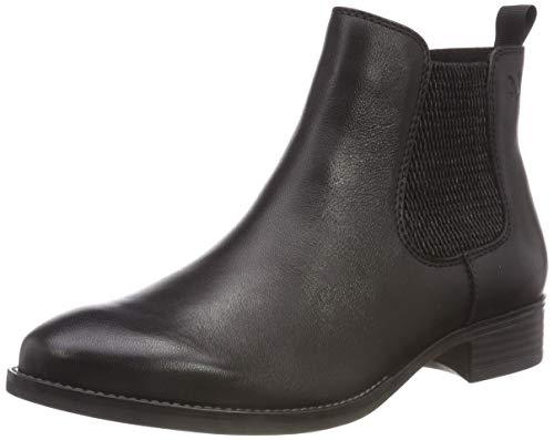 CAPRICE Damen 9-9-25312-21 022 Chelsea Boots, Schwarz (Black Nappa 22), 38 EU