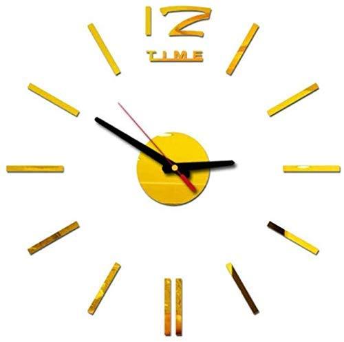 Reloj de pared relojes de pared de acrílico 2019 Nueva decoración del hogar del reloj de pared relojes de pared reloj de pared grande espejo diseño moderno de gran tamaño de la pared pegatinas DIY reg
