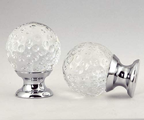 5% OFF Cheap Wholesale Crystal Ball Handle Gold Silver Style Transparent Furn