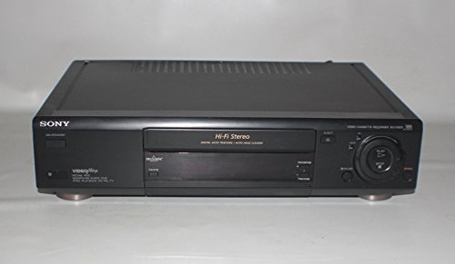 Sony SLV-E820 VCR VHS Video Player/Recorder With Remote, Nicam Stereo, 2 Speed LP/SP, Auto Tracking