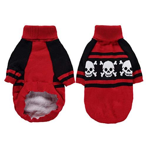 VILLCASE Disfraces para Mascotas-Ropa Divertida para Perros de Navidad...