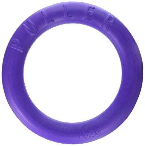 COLLAR Puller Hundespielzeug, interaktiv, bestehend aus 2 Ringen, Violett, Durchmesser 13 cm