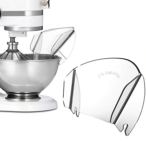 Kitchenaid Pouring Shield Replacement, Universal Pouring Chute for Metal Bowls Adding Dry & Liquid Ingredients away from Messy or Spraying, Kitchenaid Mixer Attachments & Accessory