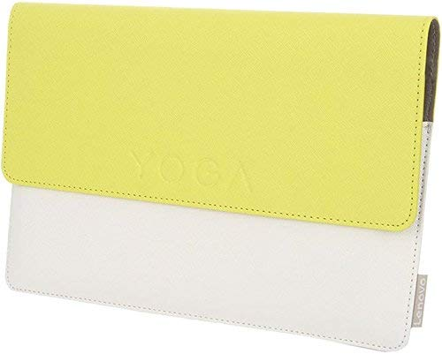 Lenovo ZG38C00558 Funda para Tablet 25,4 cm (10') Blanco, Amarillo - Fundas para Tablets (Funda, Lenovo, Yoga Tablet 3 10', 25,4 cm (10'), 280 g, Blanco, Amarillo) (Reacondicionado)