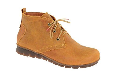 Think! Dames enkellaarzen Mena laarzen lichtbruin 1-81723-58 bruin 365295