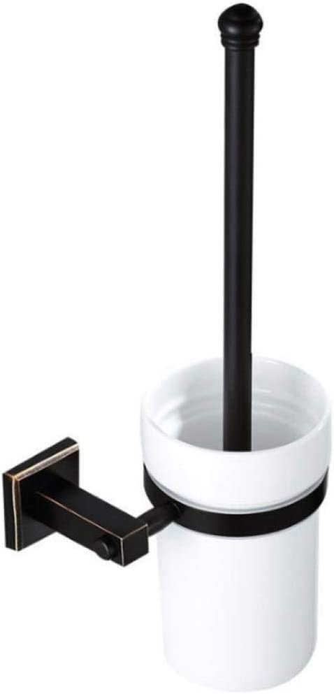 WHEEJE Toilet Brush Fort Worth Mall Set Bathroom All R Black Copper lowest price