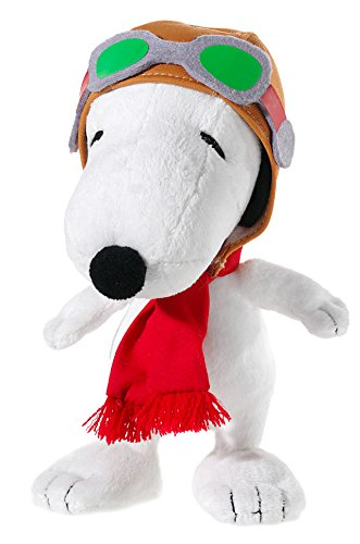 Peanuts 588271 - Plüschtier - Snoopy - Flying Ace, 18 cm
