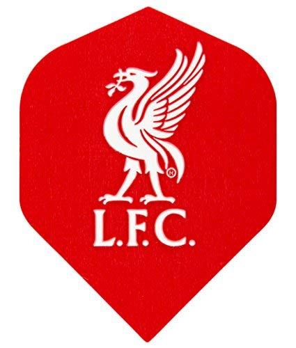 Red Dragon Liverpool Football Club Dart Flights - 3 Sets (9 flights in...