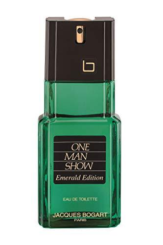Jacques Bogart One Man Show Eau de Toilette Zerstäuber für Männer, Emerald Ausgabe, 100 ml